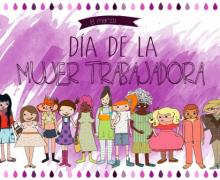 1º y 2º ciclo de Educación Primaria celebra el día internacional de la mujer trabajadora.