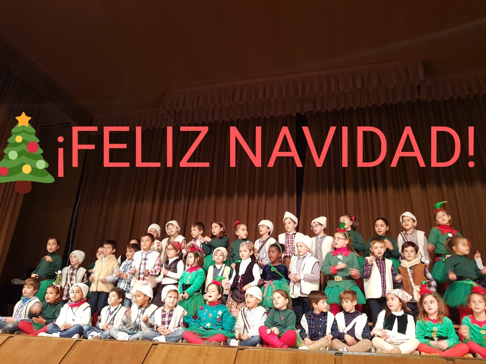Primero de Primaria celebra la Navidad