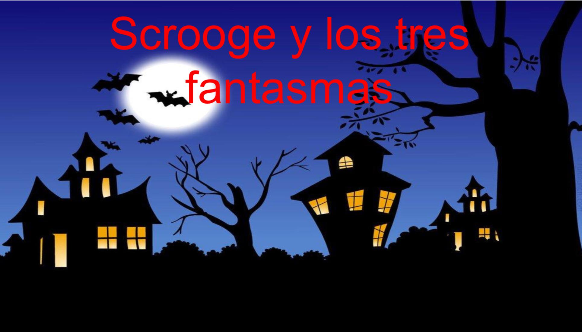 Representación Scrooge y los tres fantasmas 4 de junio a las 19:30