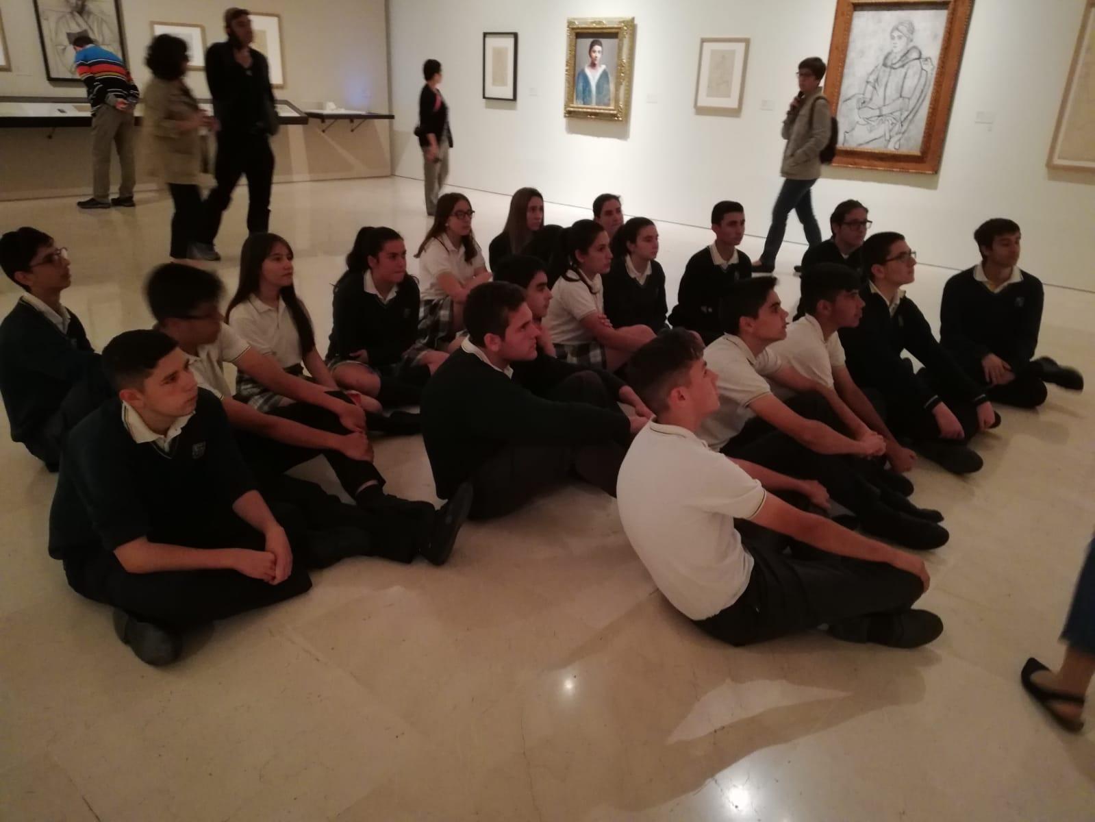 Visita de 4º de ESO al Museo Picasso