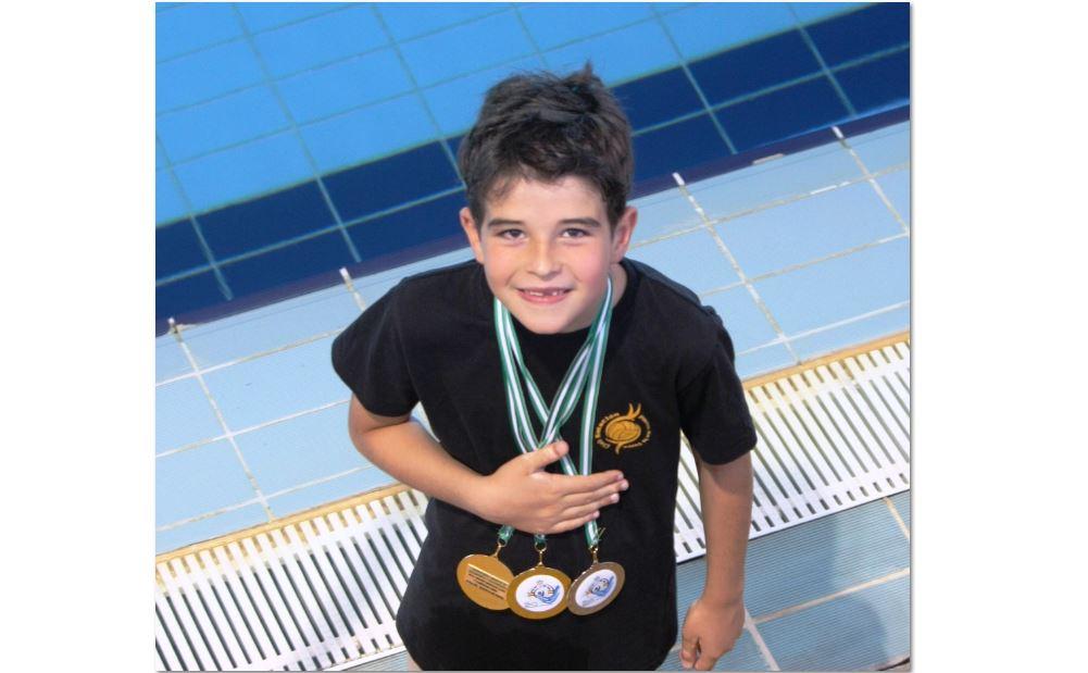 Pablo Peláez, campeón de Andalucía.