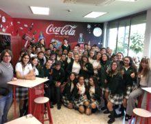 Visita del alumnado de Segundo de ESO a la embotelladora de Coca Cola.