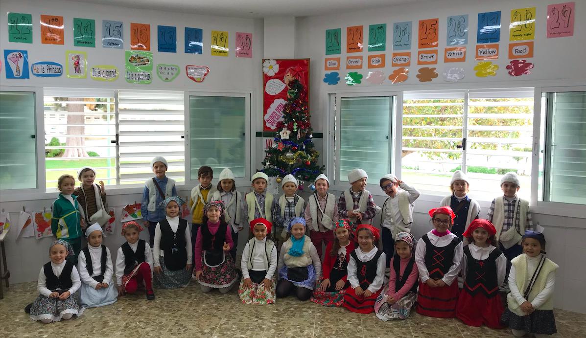 ¡1º de Primaria Feliz Navidad!