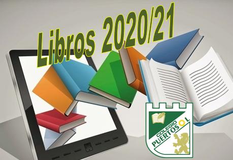 Información  sobre la adquisición de libros de texto y firma de CHEQUE LIBRO. Curso 2020/21.