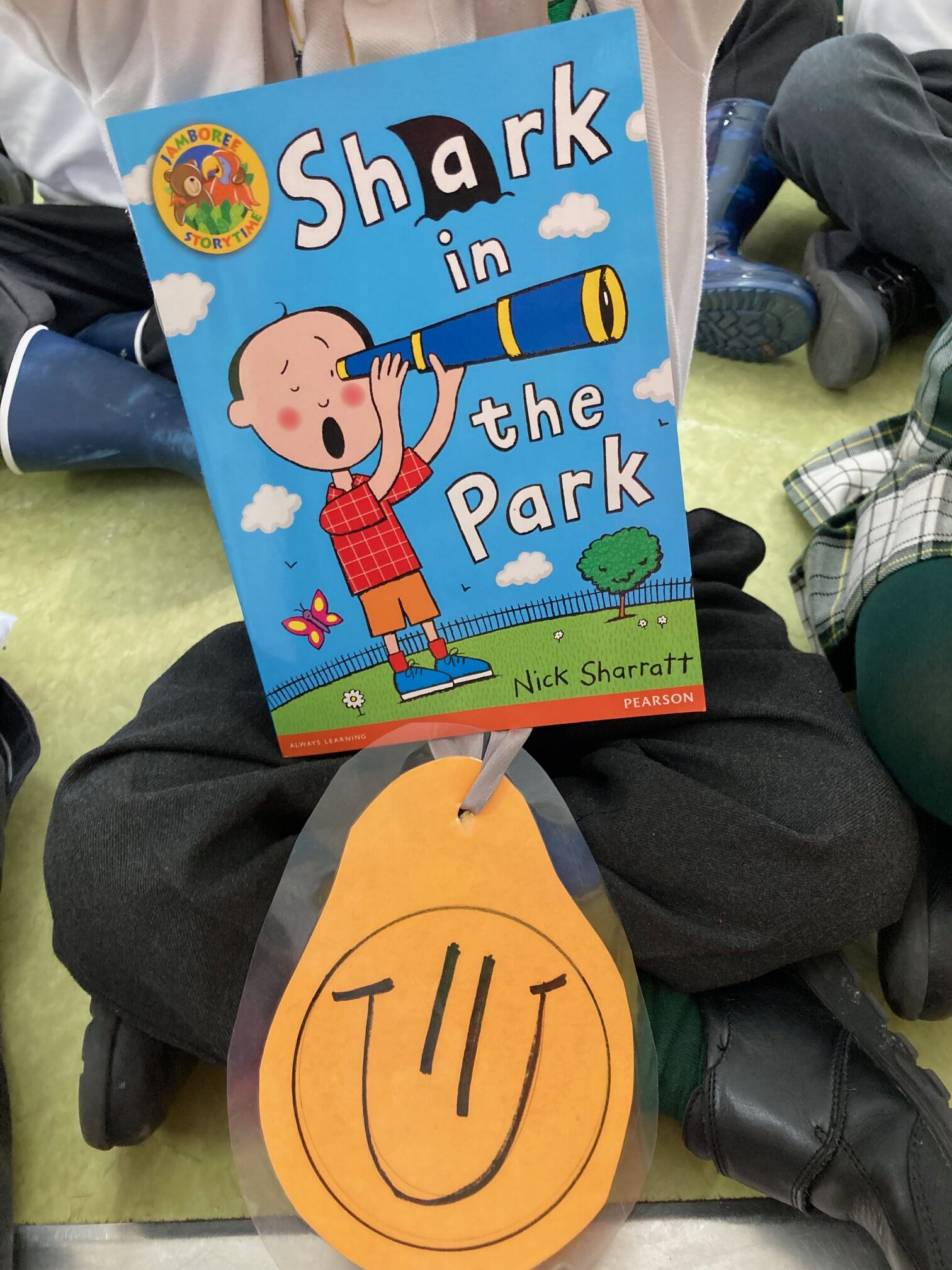 THERE IS A SHARK IN THE PARK!