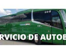 Información e inscripciones del servicio de autobús para el Curso 21-22.