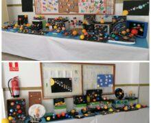 Exposición del Sistema Solar de 3º Educación Primaria