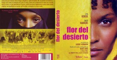Carátula de la película Flor del Desierto.